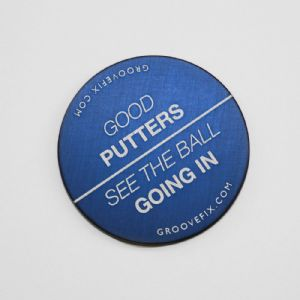 Good Putters See The Ball Going In – BIG Ball Marker